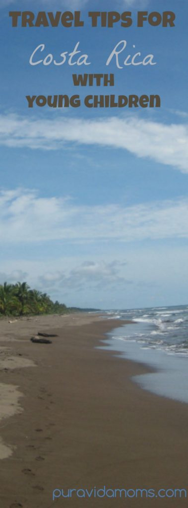 travel tips for Costa Rica with young children