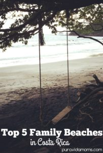 An image of a swing at the beach.