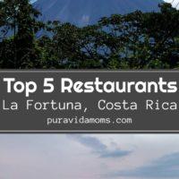 Top 5 Restaurants Pamphlet