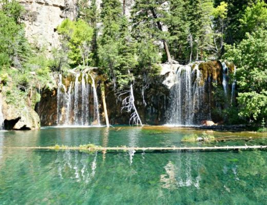 The Hanging Lake hike is one of the most iconic hikes in Colorado. It's perfectly doable with very young children- as long as you arrive prepared and know what to expect along the way. Our top tips for hiking Hanging Lake as a family. #colorado #coloradotravel #familytravel #tmom #traveltips #roadtrip #scenicdrive #mkbkids #TMOM