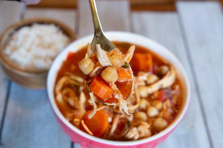 Costa Rican Garbanzo Bean Soup Recipe