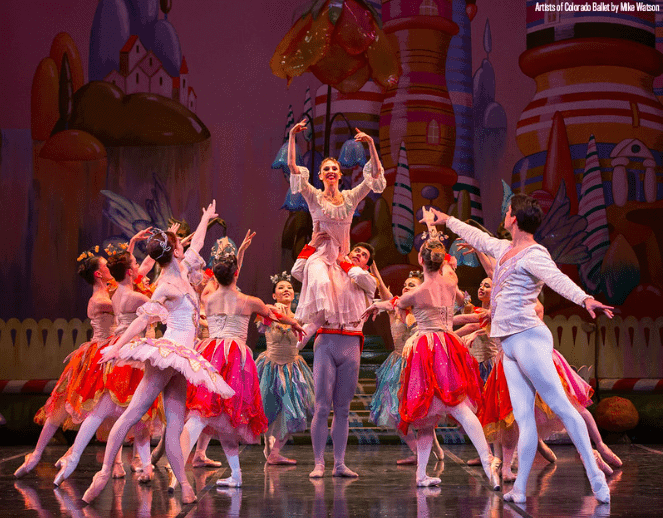 final scene of nutcracker ballet denver
