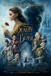 Live action Beauty and the Beast theatrical release poster.
