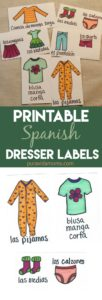 A collection of printable dresser labels.