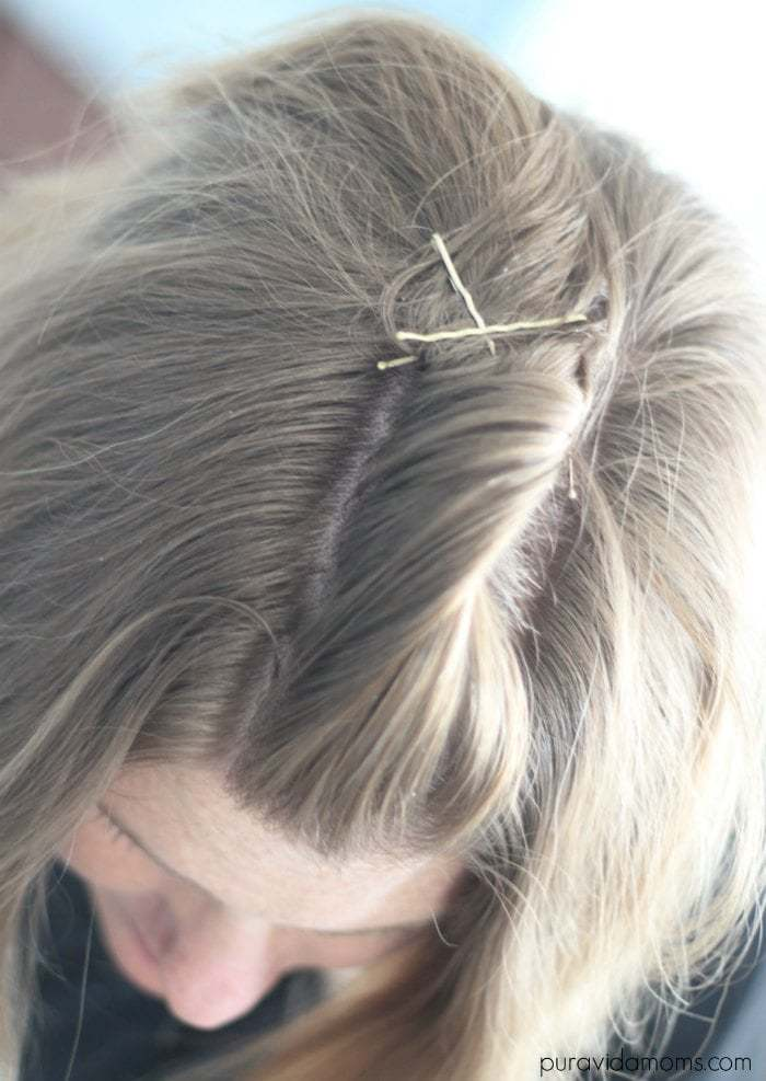 x bobby pins for updo
