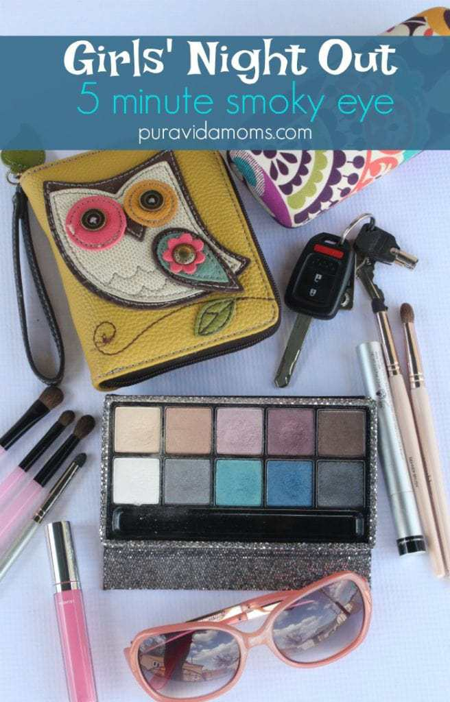 girls' night out make up look perfect for everyone