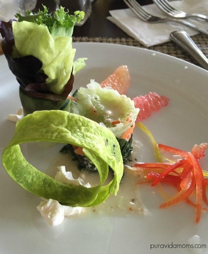 food at gran caribe hotel cancun mexico pura vida moms