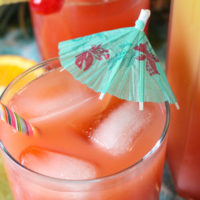 5 Minute Tropical Rum Punch Cocktail Recipe