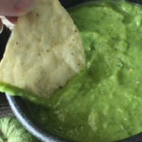 Creamy Mexican Green Salsa Recipe
