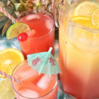 rum punch with bacardi superior