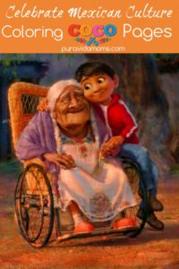 An image of a young boy and grandmother from the movie COCO.