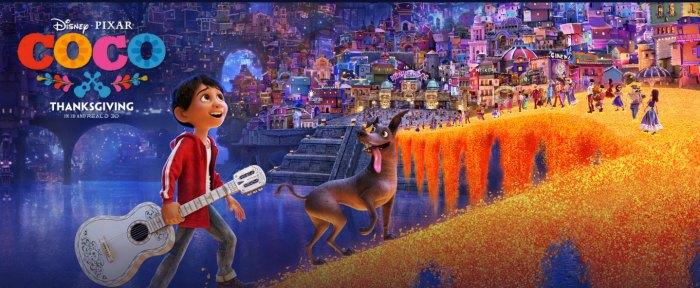 Disney Pixar Coco Opens Novemeber 22