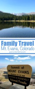 Family Travel to Mount Evans Colorado