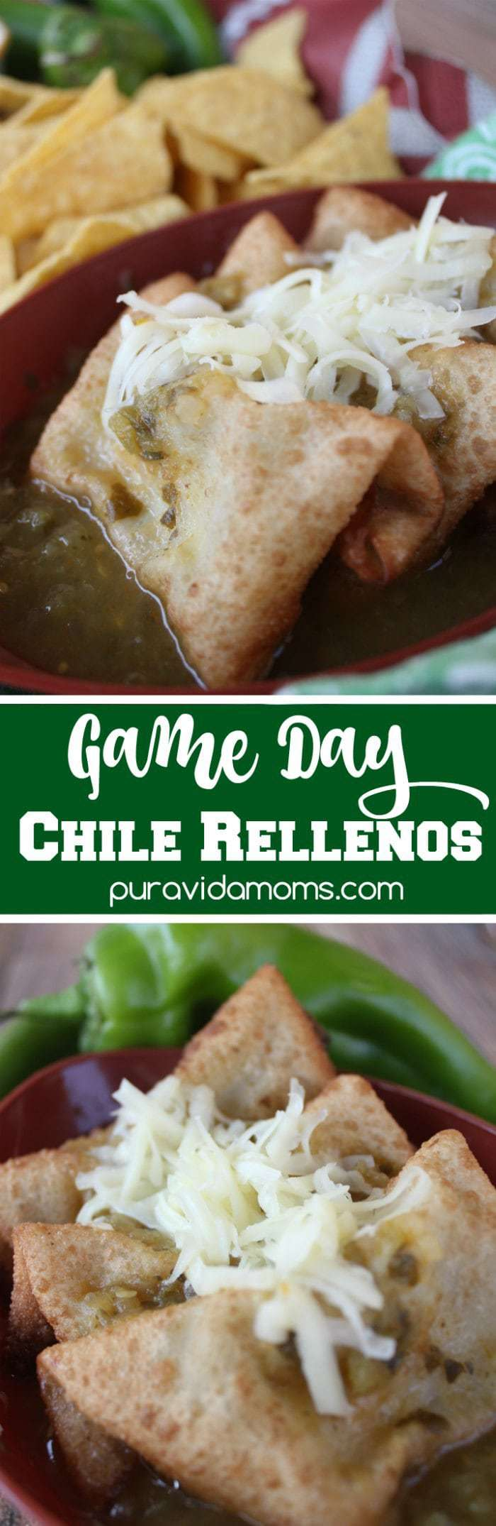 Game Day Vegetarian Chile Rellenos Recipe