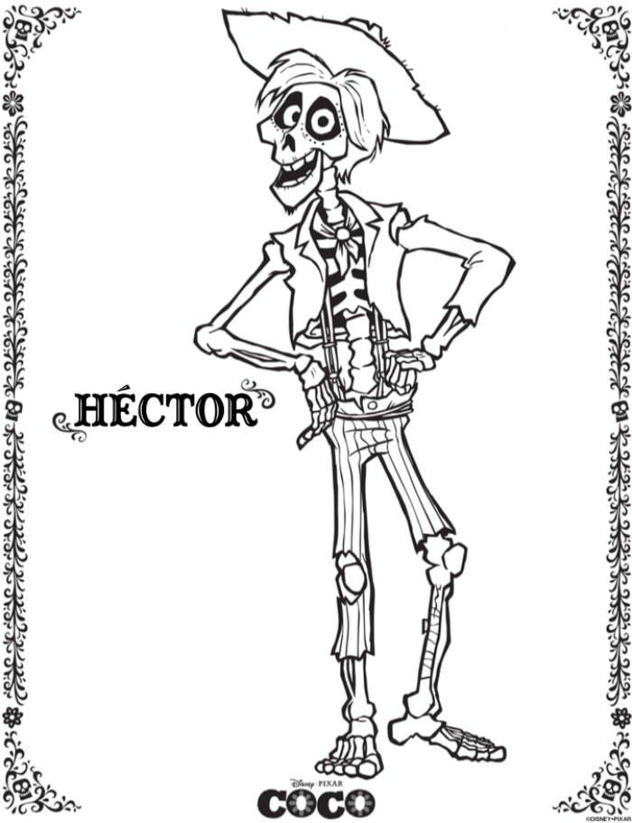 Hector- Disney Pixar's Coco