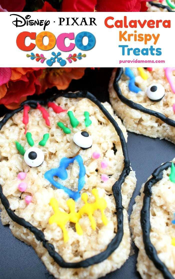 Krispy Skull Treats Disney Pixar's Coco