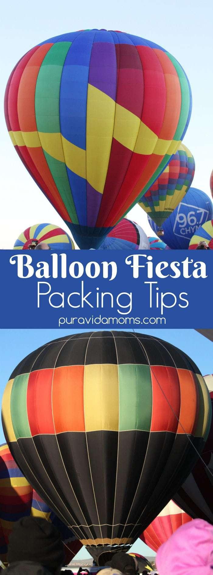 Balloon Fiesta Packing Tips