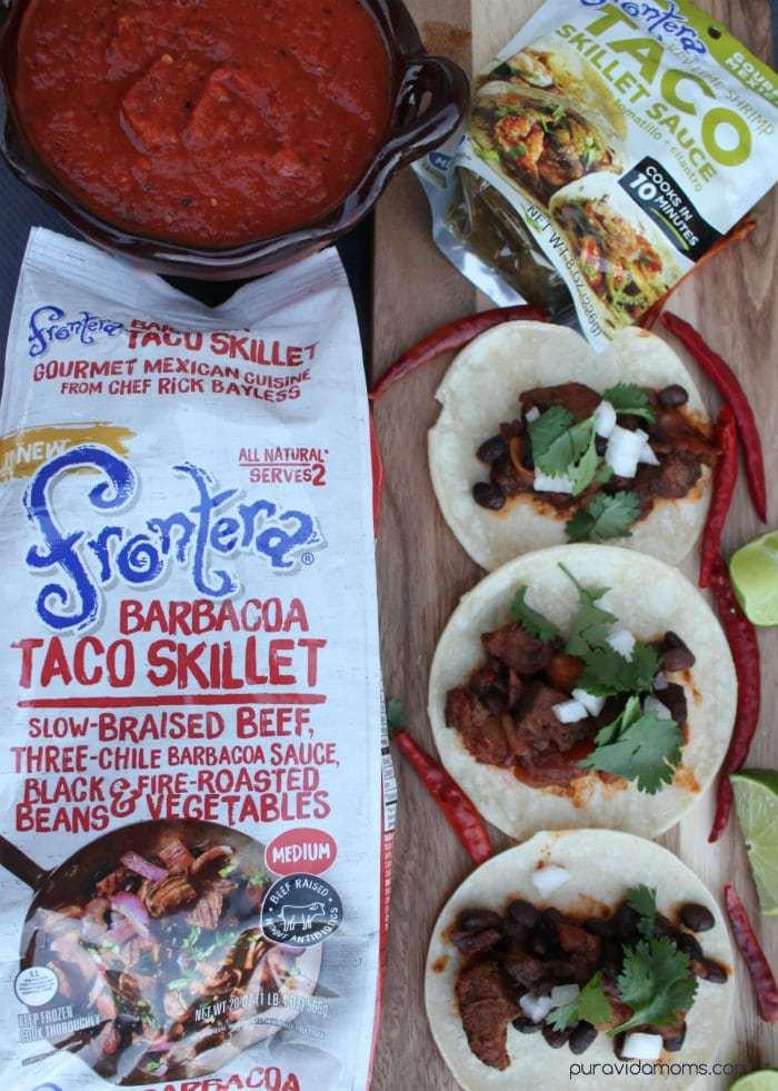 Barbacoa Taco With Chile del Arbol Salsa