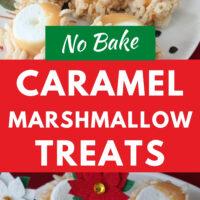 No Bake Marshmallow Treats pinterest image