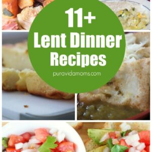 These delicious meatless dinner recipes will get your family through the vegetarian pre-Easter Lenten Season with almost no complaints! #lent #vegetarian #vegetarianrecipes #easter #lentrecipes #dinnerrecipes #dinner #dinnertonight