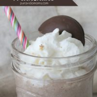 Girl Scout Milkshake recipe
