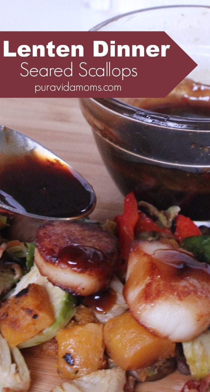 Lenten Dinner Recipe Seared Scallops