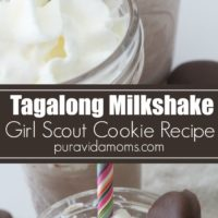 Tagalong Girl Scout Cookie milshake