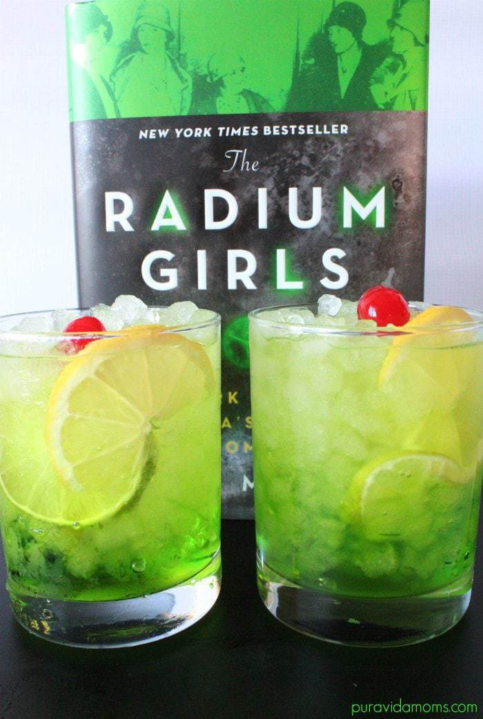 The Radium Girls Radioactive Cocktail Recipe