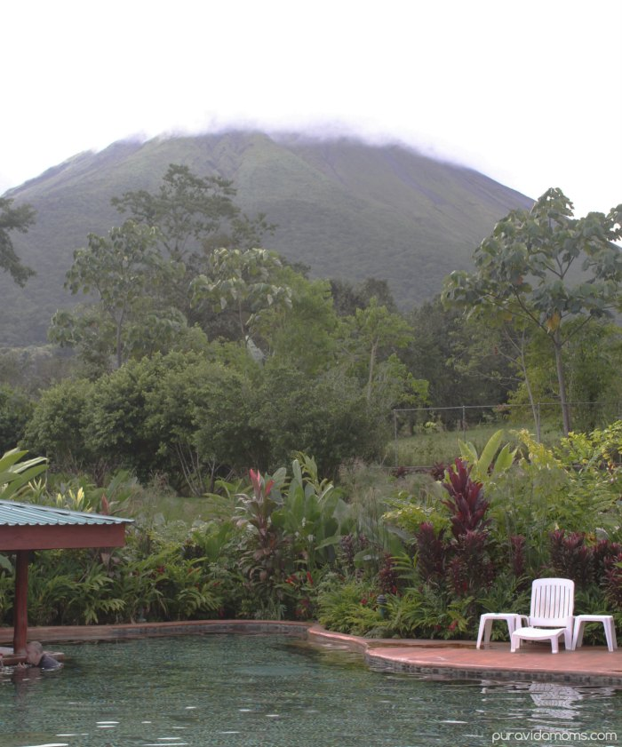 Hot Springs Views of Arenal Volcano Costa Rica