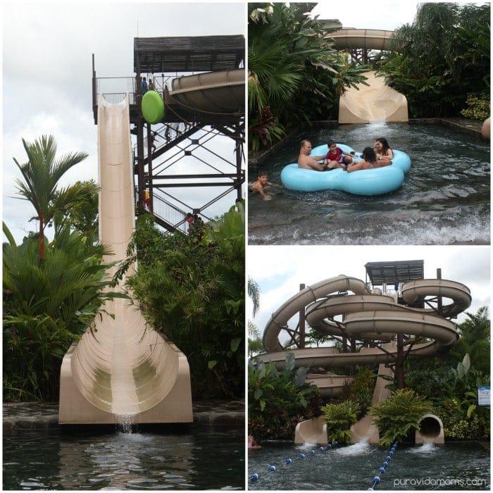Water Slides Hot Springs La Fortuna Costa Rica