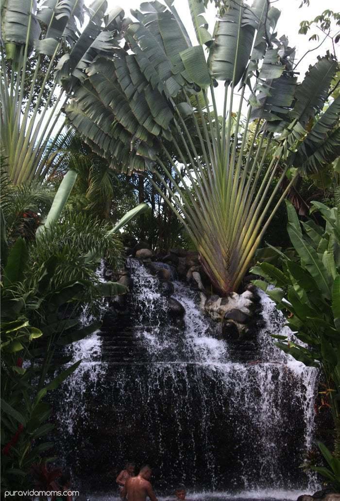 Waterfall Pool La Fortuna Costa Rica