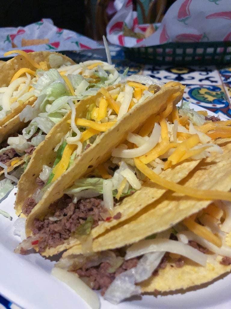 beef tacos best food at casa conita denver