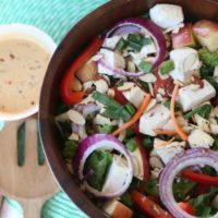 Healthy Spicy Thai Peanut Salad Dressing Recipe