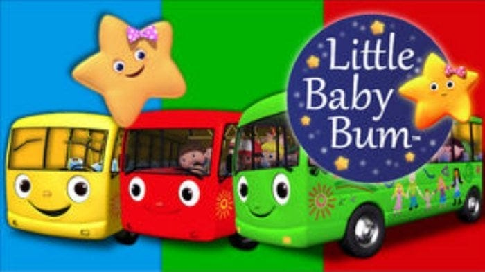 school buses with a star little baby bum you tube channel