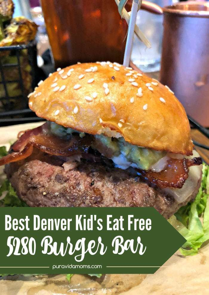 5280 Burger Bar is a great family restaurant in Denver- delicious food, great prices and friendly staff.