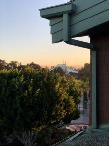 View from Disney's Grand California Balcony.