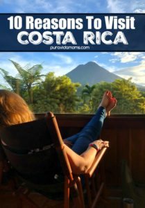 If you are considering a family trip to Costa Rica, check out our ten reasons to visit Costa Rica. We bet that after reading, your next international vacation will be a Costa Rica trip!#puravida #costarica #familytravel #travelmom #traveltips #costaricatravel #centralamerica #latinamerica