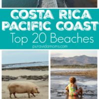 Our top 20 Costa Rica Pacific beaches list includes everything from Costa Rica's cleanest beach, to the biggest party beach, and a beach whose coast is made entirely of small shells. There's a beach for every personality on this list! #costarica #beachlife #familytravel #traveltips #costaricatravel #tmom #beachvacation #vacation