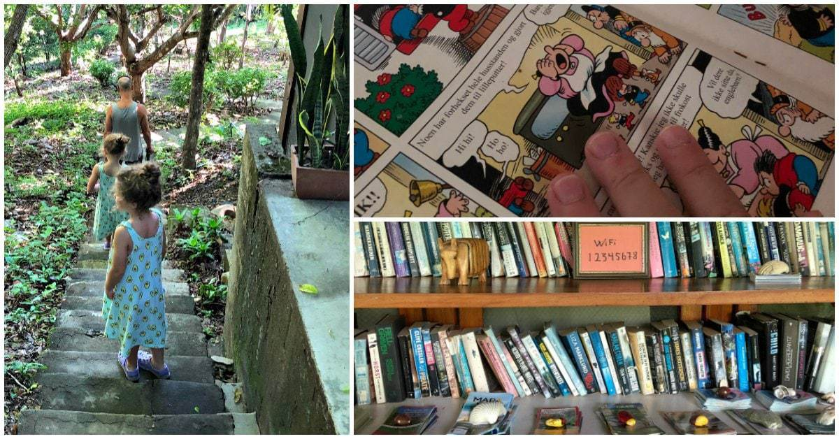 books and hiking in costa rica guiesthouse