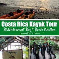 Kayak Tour Sign in Costa Rica