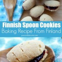 finnish spoon cookies baking recipe from finland