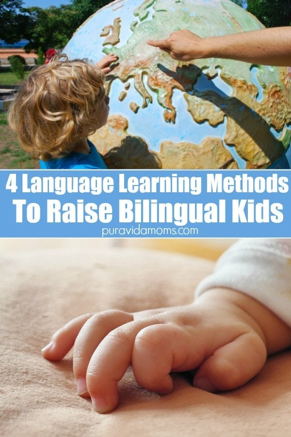 Language Learning Methods for Bilingual Kids Pinterest Image