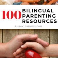 100 Spanish Resources For Parents pinterest image