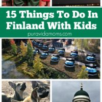 A few images of 15 things you can do with children in Finland.