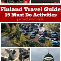 images showing 15 things, and activities, you have to try in Finland.