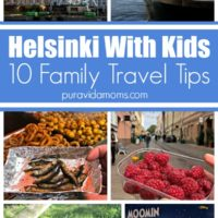 10 family tips to travel with kids in Helsinki.