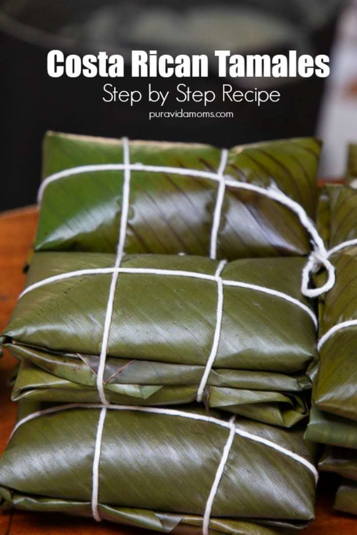 Costa Rican Pork Tamales Recipe