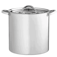 20 Quart Aluminum Stock Pot