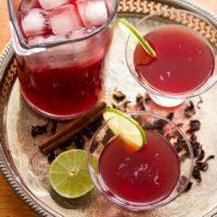 Hibiscus Margaritas - Crumb: A Food Blog