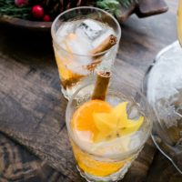 Coconut Water Bourbon Punch